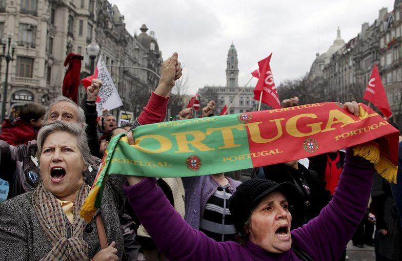 Portugalczycy protestowali już w lutym