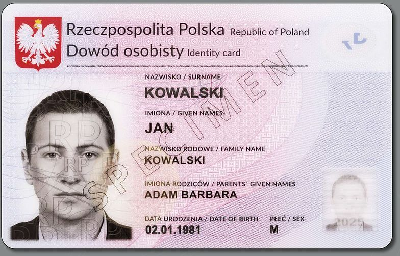 Nowe dowody. 30 mln Polaków otrzyma je w ciągu 10 lat