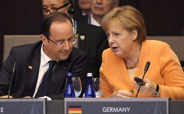 Niemcy dalej nie chcą euroobligacji. Hollande bezsilny