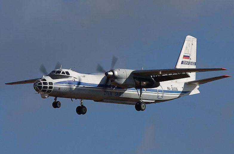 Wypadek rosyjskiego samolotu w Czechach