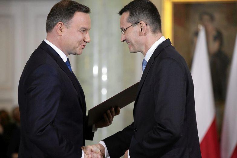 Inicjatywa prezydenta wesprze działania Morawieckiego?