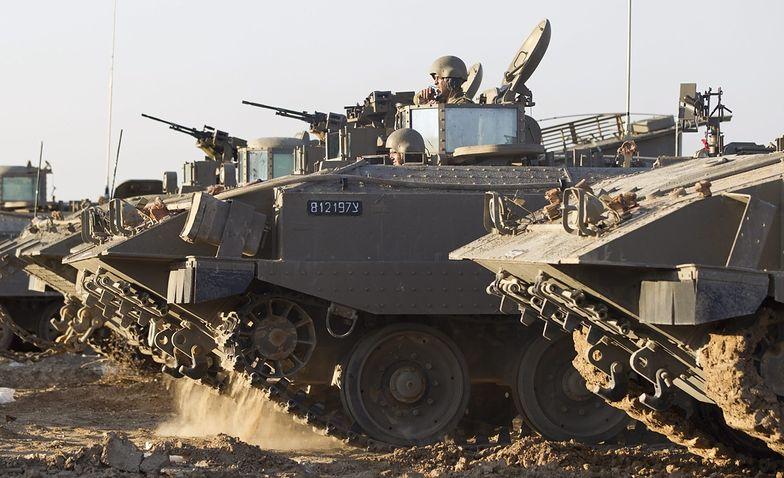 Izrael przygotowuje się do inwazji sił lądowych na Strefę Gazy