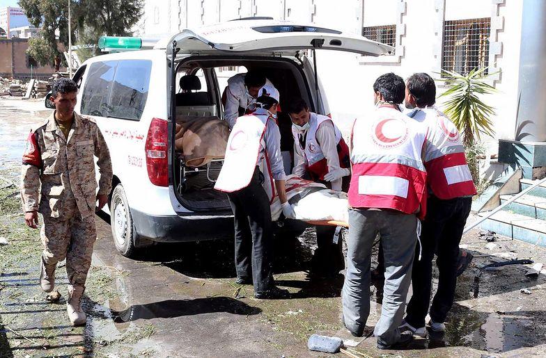 Atak na ministerstwo w Jemenie przeprowadzili Saudyjczycy