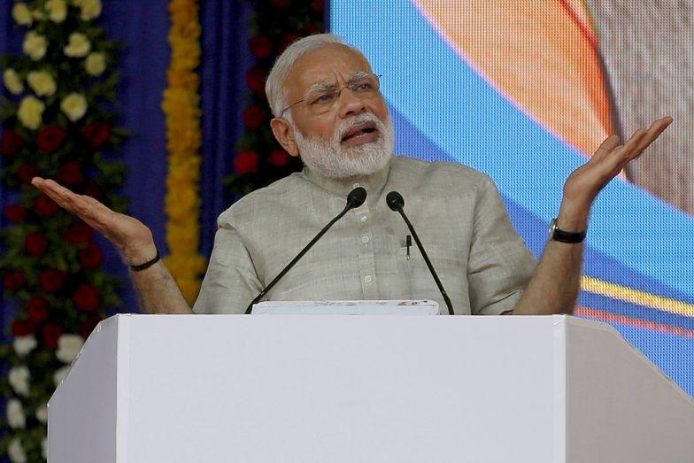 Na zdjęciu premier Indii Narendra Modi