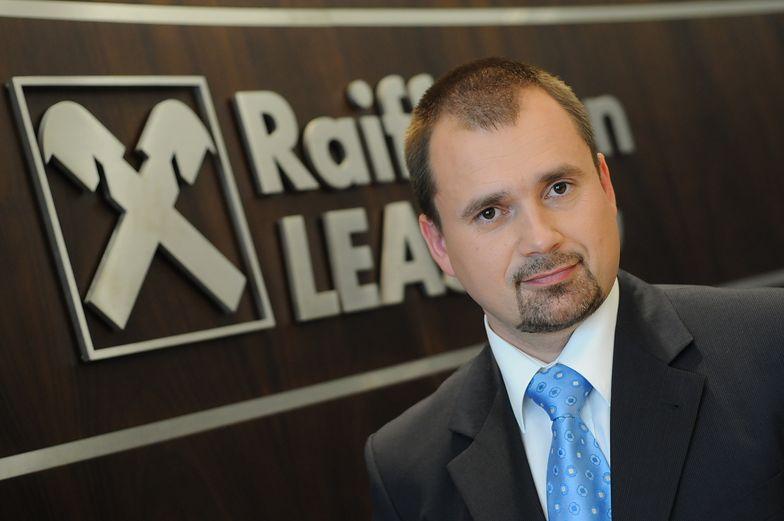 Przemysław Stańczyk, wiceprezes Raiffeisen-Leasing Polska