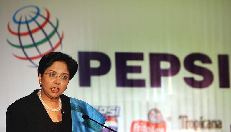 na zdj.: Indra Nooyi, prezes PepsiCo