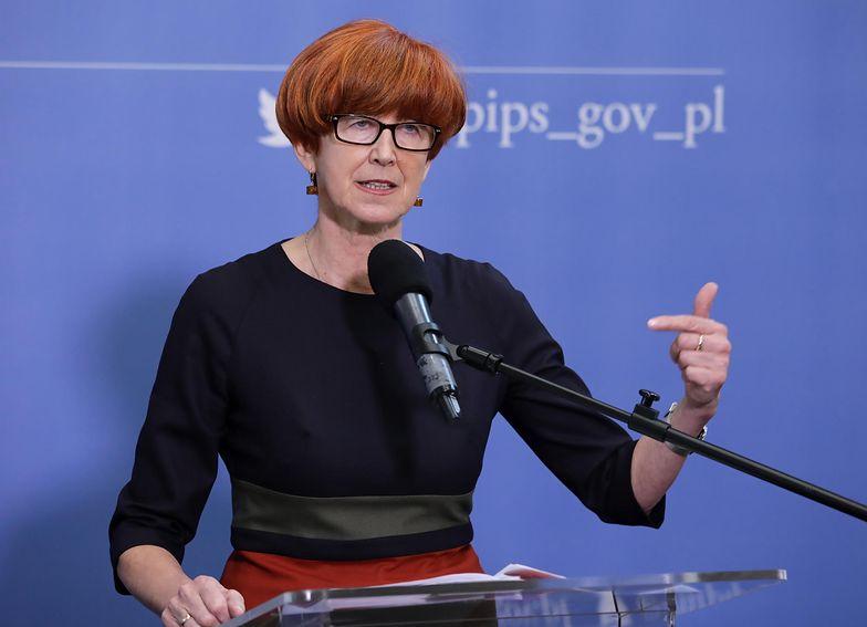 Minister Rodziny Elżbieta Rafalska spodziewa się dobrych wieści dla emerytów