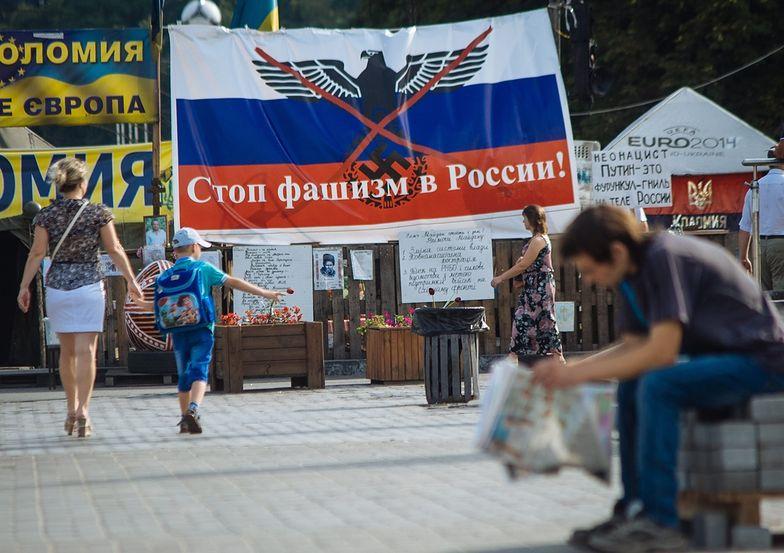 Separatyści na Ukrainie. Powstała mapa