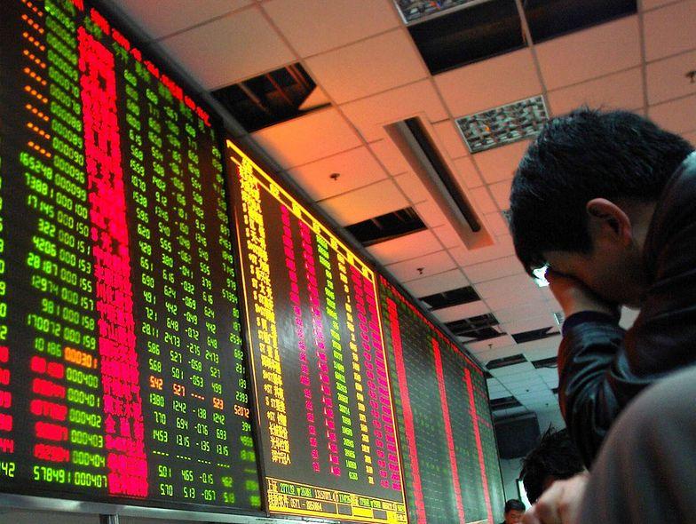 Spadki powróciły na giełdę w Chinach. Interwencje władz nic nie dają