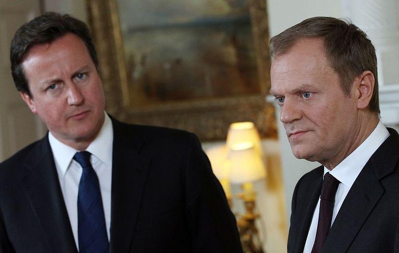 Cameron spotakł się z Tuskiem. Zamierza pomóc europejskim firmom