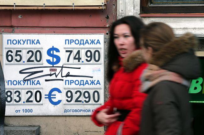 Gospodarka Rosji skurczyła się po raz pierwszy od 2009 r.