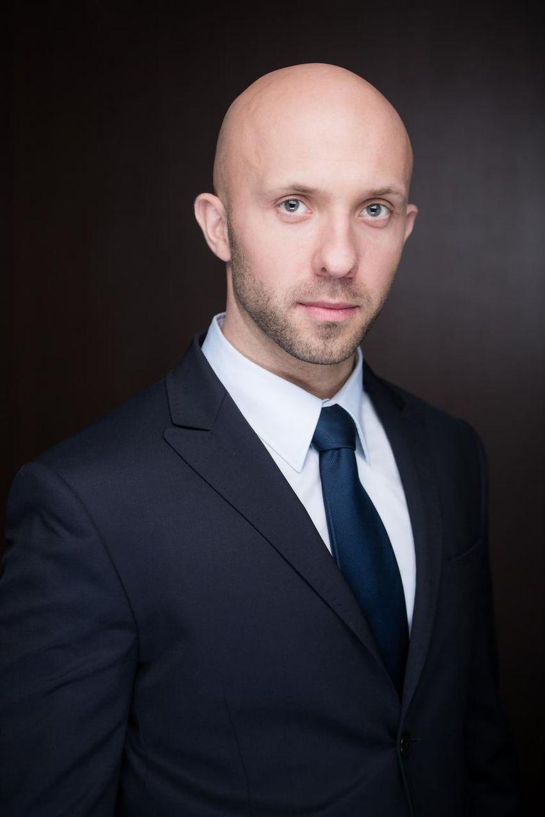 Wojciech Derda, członek zarządu PKP Cargo