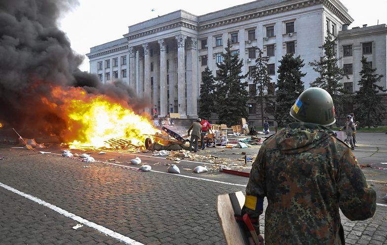 Wczorajsze walki w Odessie