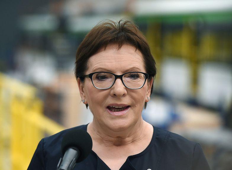 """Bezrobocie w Polsce i """"lista priorytetów"""". Ewa Kopacz w Nowym Sączu"""