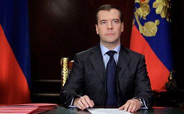 Miedwiediew pogratulował Putinowi