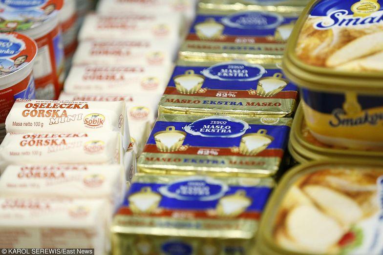 UOKiK zajmie się nie tylko masłem - rynek jabłek i mleka również pod lupą.