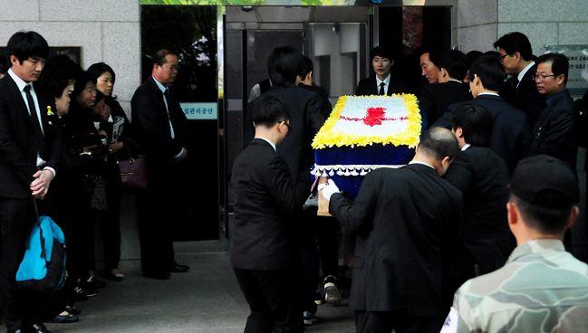 Pogrzeb ofiar katastrofy promu