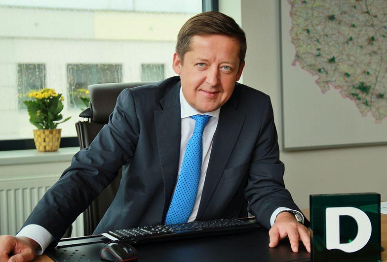 Wojciech Normand, wiceprezes polskiego Deichmanna