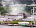 Pożar w elektrowni atomowej w Szwecji