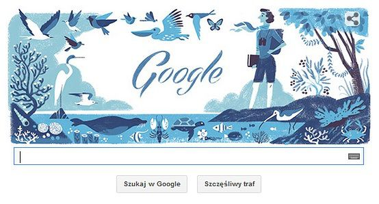 Rachel Louise Carson. Google świętuje urodziny