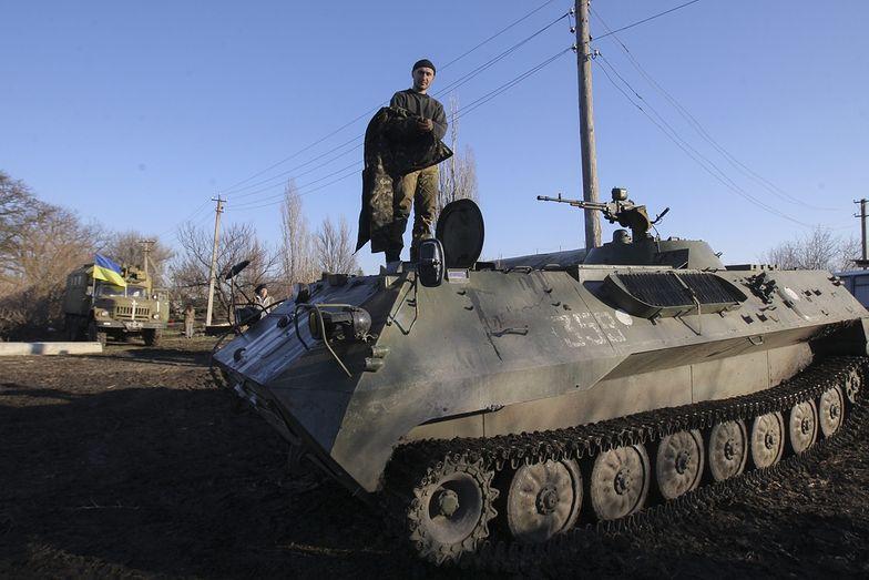 Na krótko przed wejściem w życie zawieszenia broni,</br>w Donbasie doszło do ostrych starć