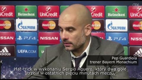 Reakcje na wygraną Manchester City z Bayern Monachium