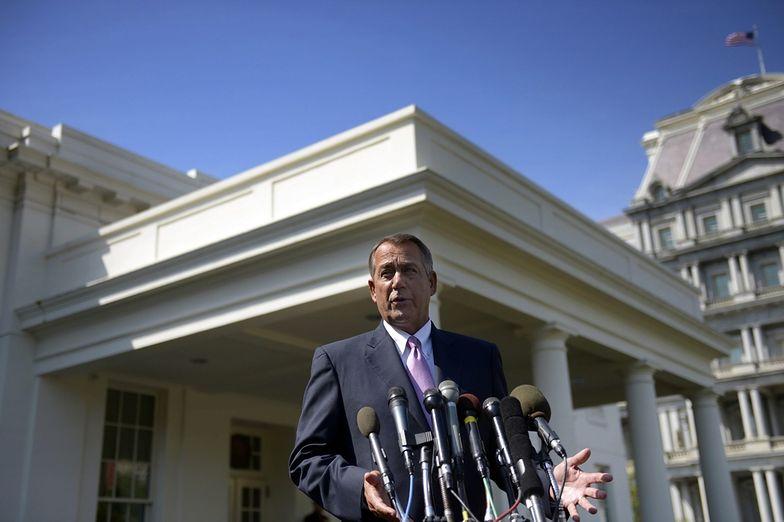Na zdj. John Boehner