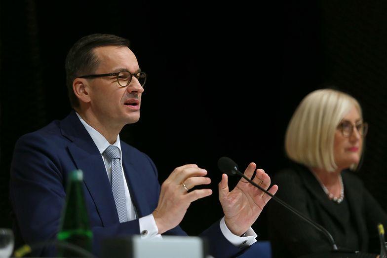 Premier Mateusz Morawiecki podczas szczytu klimatycznego COP24 w Katowicach