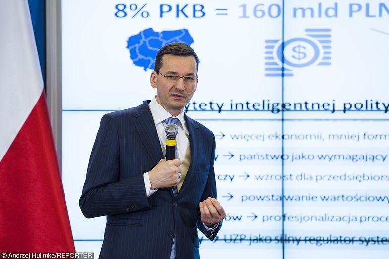 Morawiecki: wzrost gospodarczy przyspieszy w II kw. 2017 r.