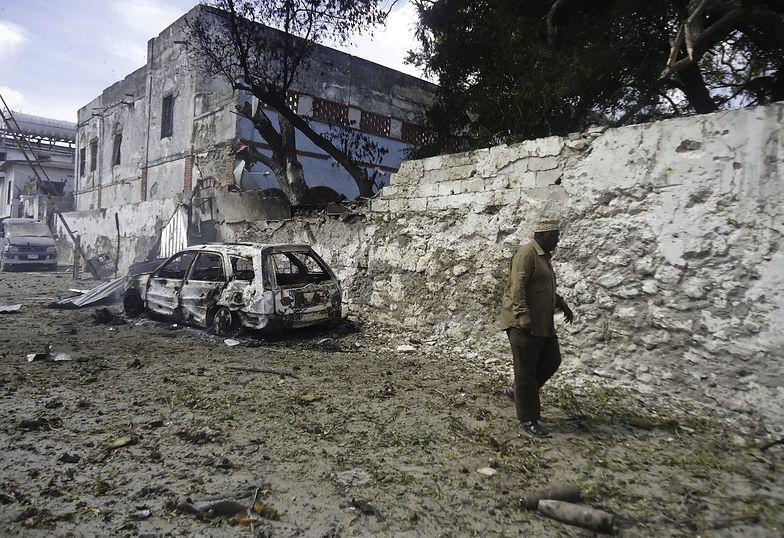 Zamach w Somalii. W wybuchu zginęło 16 osób
