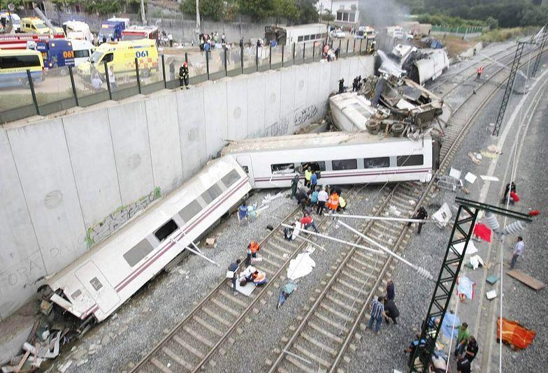 Katastrofa kolejowa w Hiszpanii. Dramatyczna reakcja maszynisty