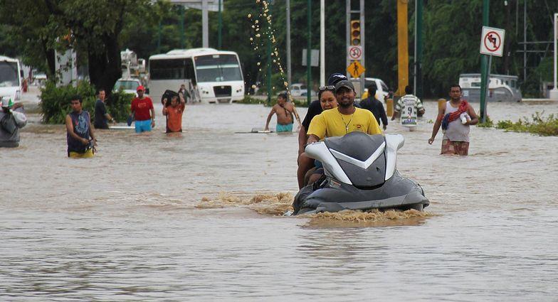 Huragan Ingrid w Meksyku. Liczba ofiar wzrosła do 80