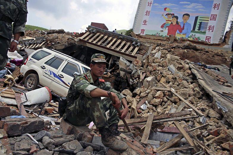 Chiny: Rośnie liczba ofiar śmiertelnych trzęsienia ziemi