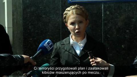 Wizyta Kliczki i Tymoszenko w Odessie
