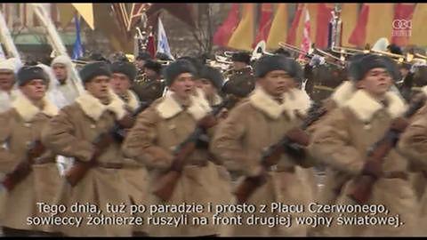 6000 żołnierzy i kadetów wzięło udział w paradzie upamiętniającej wymarsz na wojnę