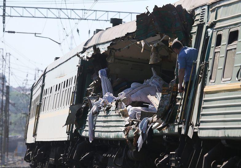 Rosja: w katastrofie kolejowej zginęło 9 osób