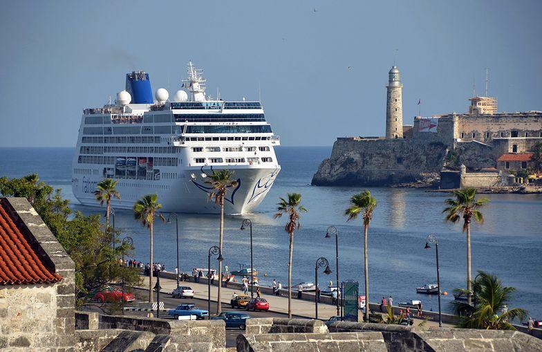 Historyczna chwila. Pierwszy od dekad statek wycieczkowy z USA zawinął do Hawany