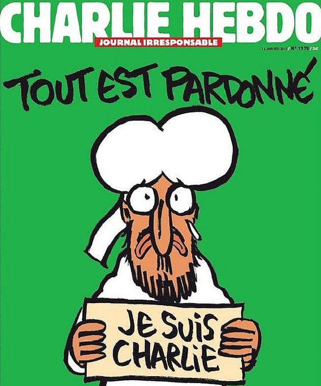 Charlie Hebdo z karykaturą Mahometa również w Polsce