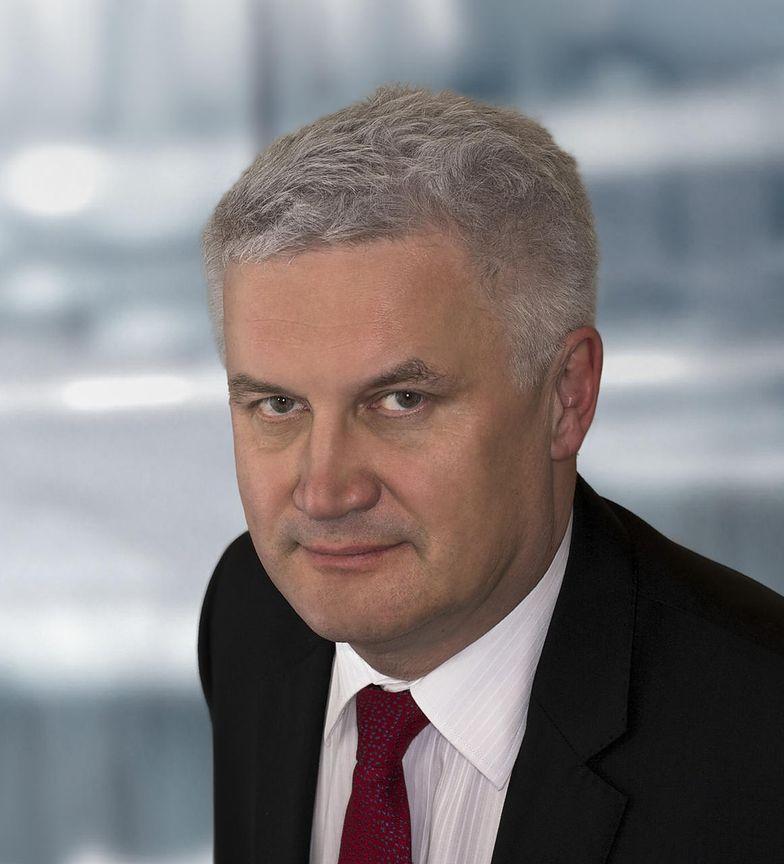 Paweł Jaguś, prezes Qumak