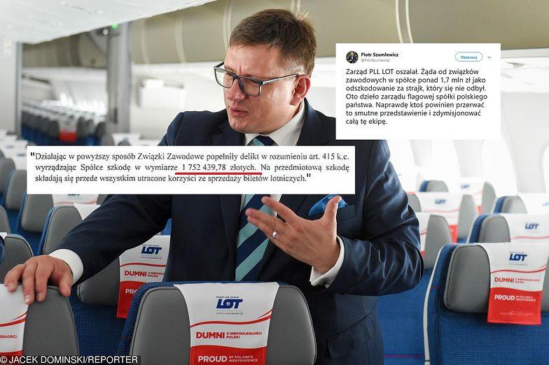 Prezes zarządu PLL LOT Rafał Milczarski