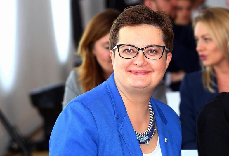 Katarzyna Lubnauer jest od soboty nową szefową Nowoczesnej.