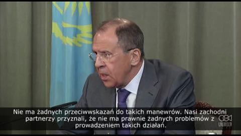 """Kryzys na Ukrainie: Putin """"nakazał częściowe wycofanie wojsk"""""""