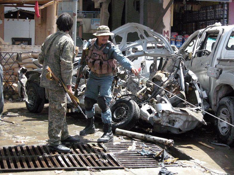 Afganistan: Atak na amerykańską bazę