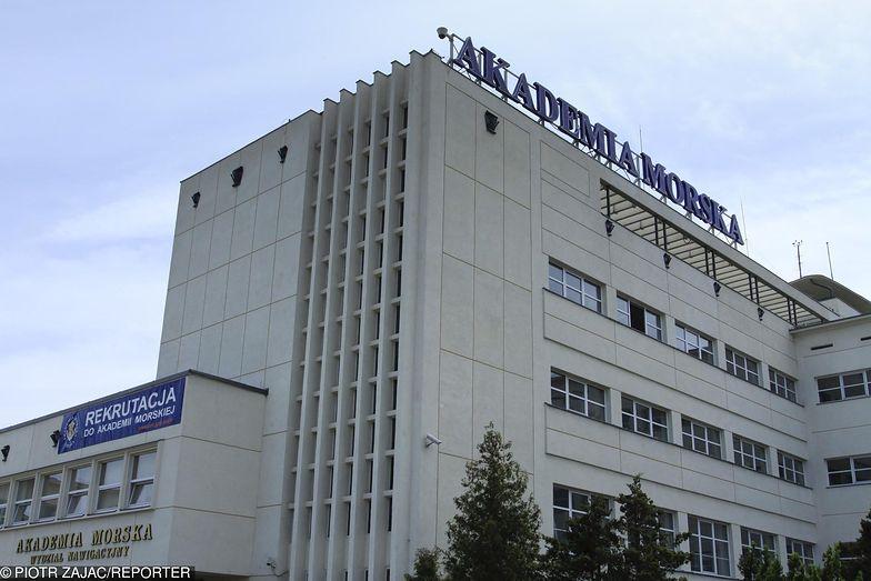 Budynek Akademii Morskiej w Gdyni (obecnie Uniwersytet Morski)
