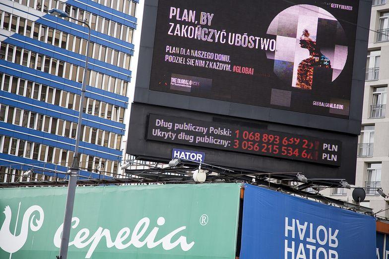 Dwa lata temu dług sektora finansów publicznych przekroczył 1050 mld zł. Wyżej już nie był