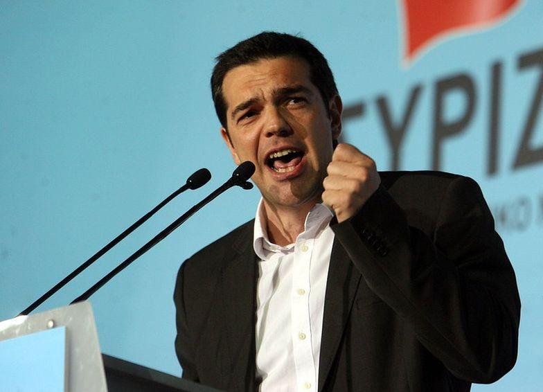 Na zdjęciu premier Grecji Aleksis Cipras