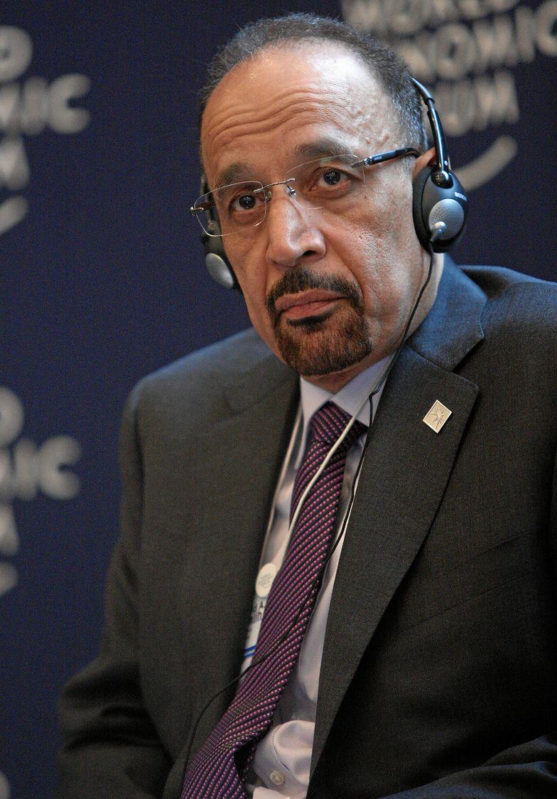 Minister energii Arabii Saudyjskiej Khalid al-Falih.