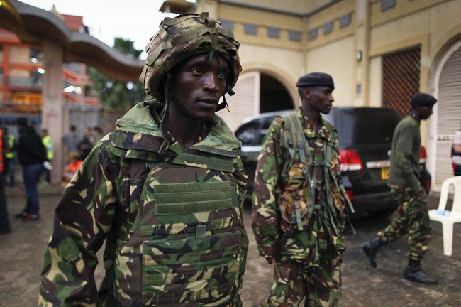Atak terrorystyczny w Kenii. Zakładnicy wciąż w rękach zamachowców
