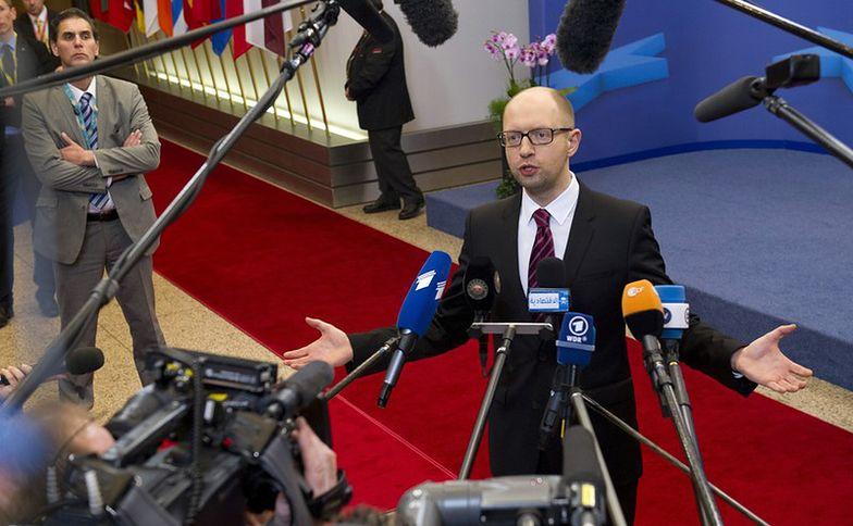 Wybory na Ukrainie. Jaceniuk na czele nowej partii