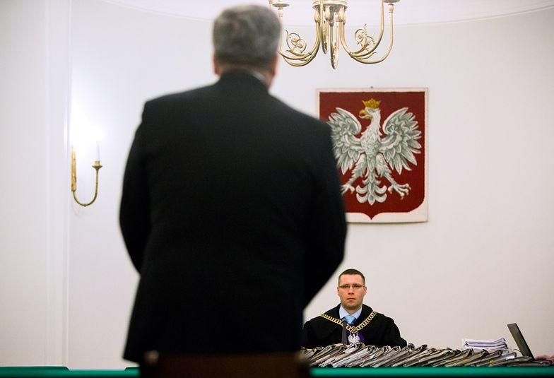 Prezydent Komorowski zeznawał w procesie Sumlińskiego i płk. L.